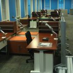 cubical and office set up by professional movers